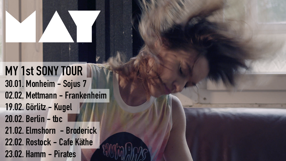 """MAY """"My 1St SONY"""" release tour"""